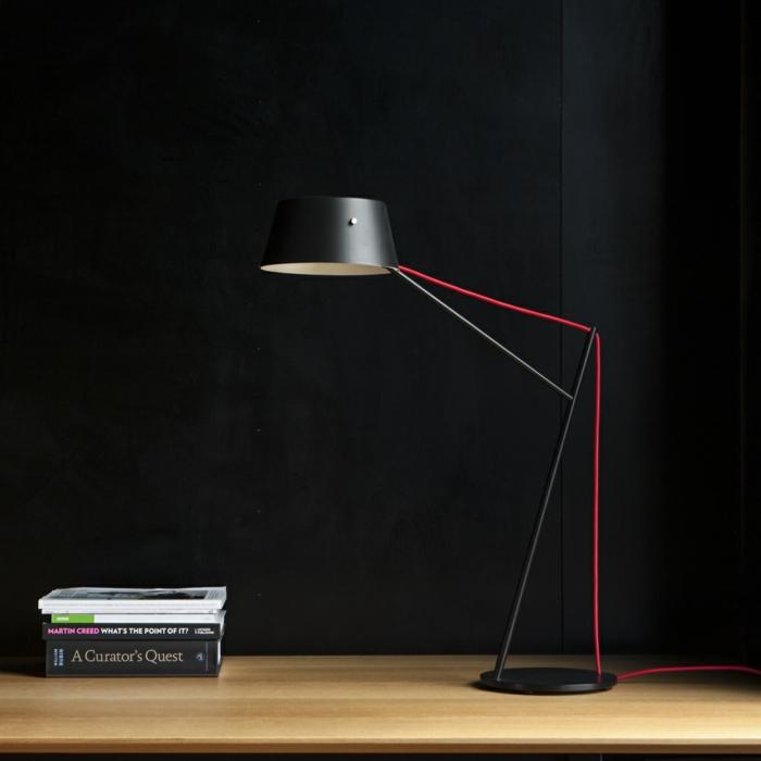 lampes de bureau métal noir