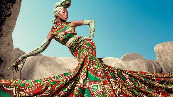 le pagne africain une gazelle africaine
