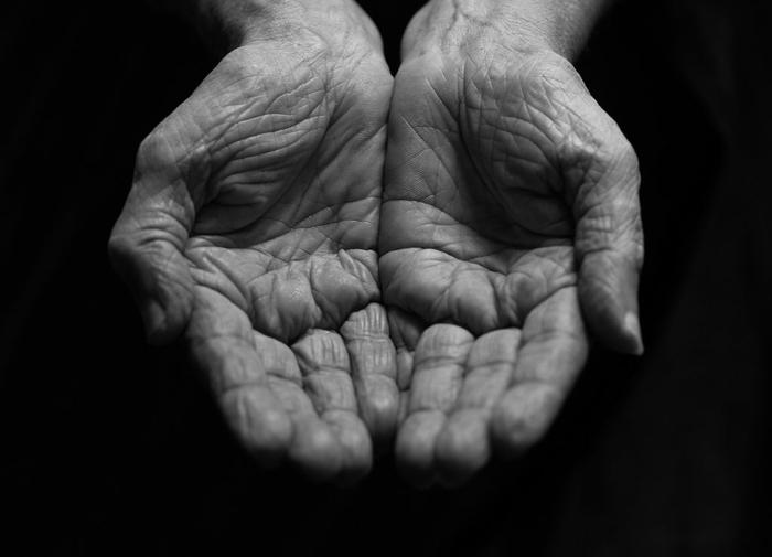 les mains photographie noir et blanc