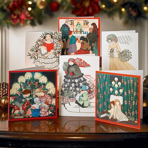 voeux de Noël la famille ensemble