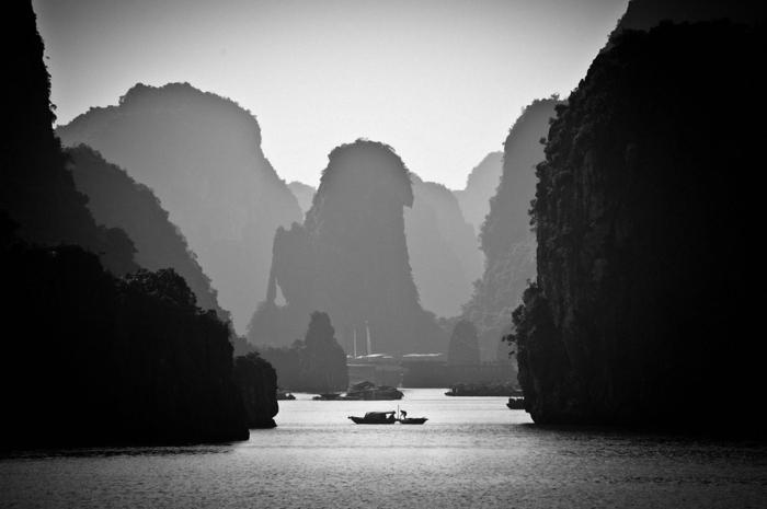 paysage nature photographie noir et blanc