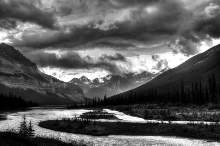 photographie noir et blanc déco maison