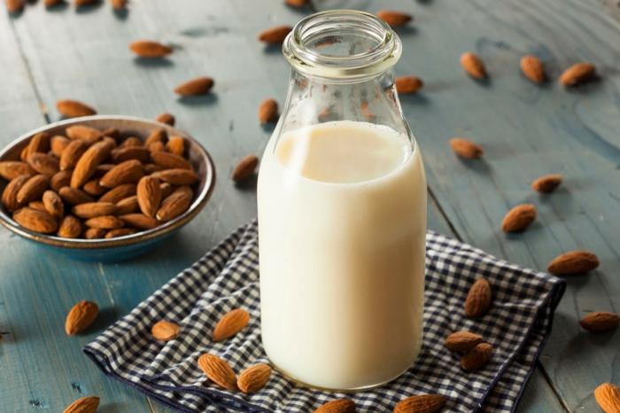 recette smoothie avec lait d'amande