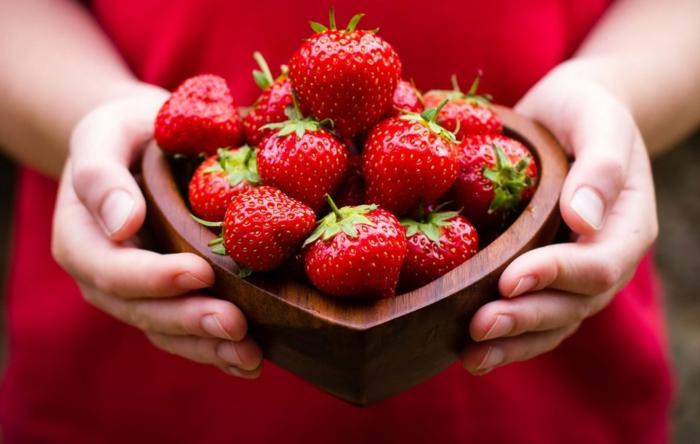 recette smoothie fraises
