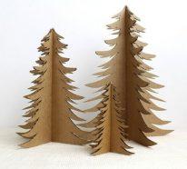 Fabriquer Un Sapin De Noel En Carton Un Diy Toujours Ecolo