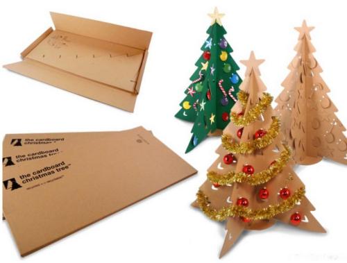 sapin de Noël en carton modèles de sapin