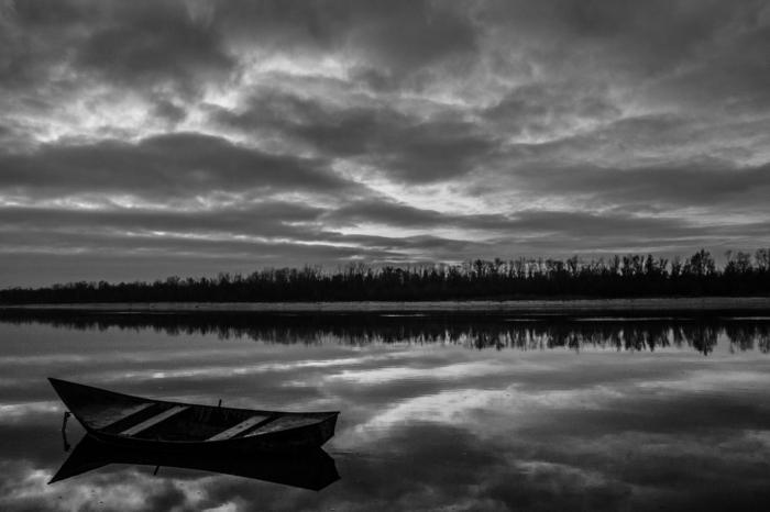 solitude photographie noir et blanc