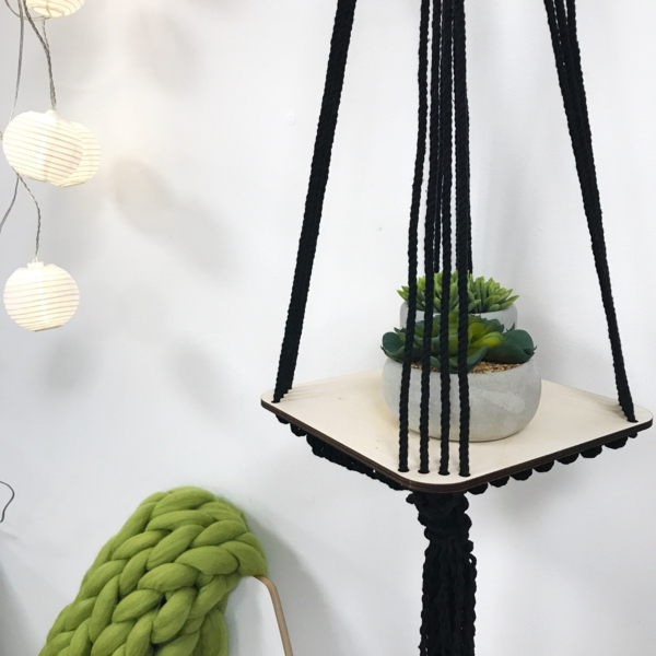 suspension macramé à faire soi-même