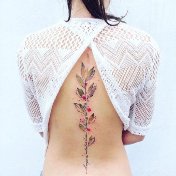 tatouage dos image japonais