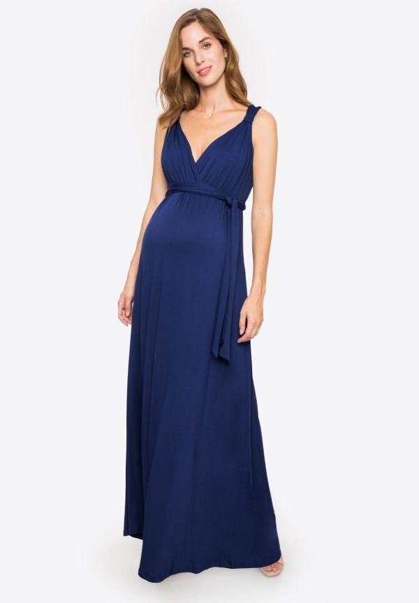 tenue de soirée femme enceinte robe longue