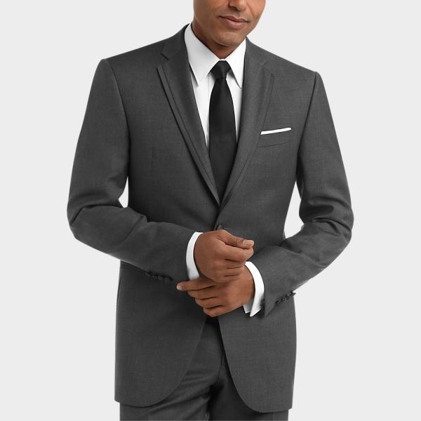 tenue de soirée homme couleur grise
