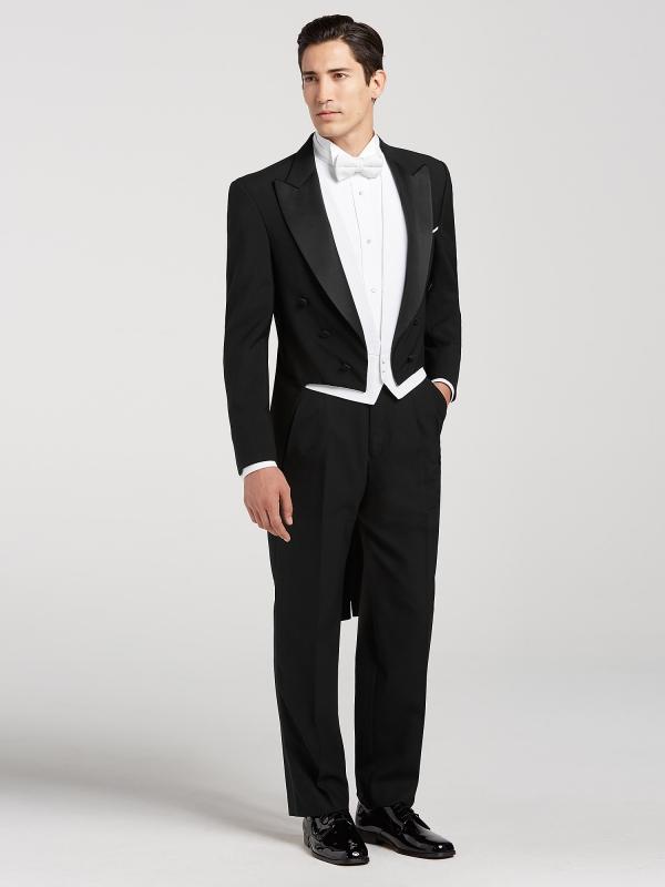 tenue de soirée homme coupe classique