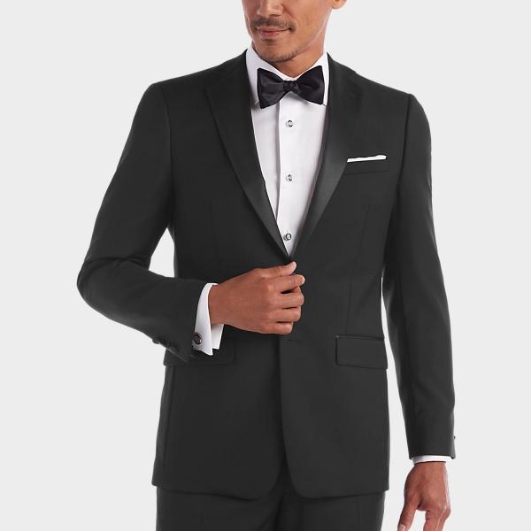 tenue de soirée homme gris anthracite