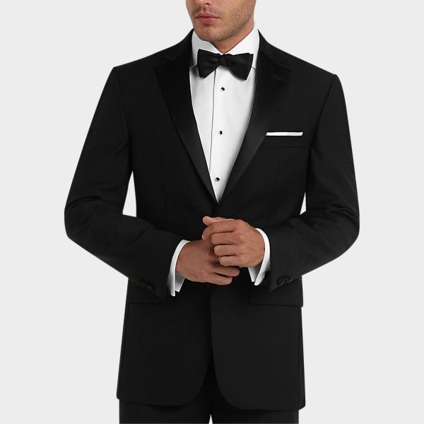 tenue de soirée homme noir classique