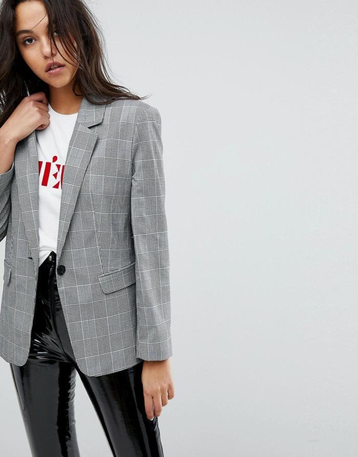 Veste classique longue pour femme 2019