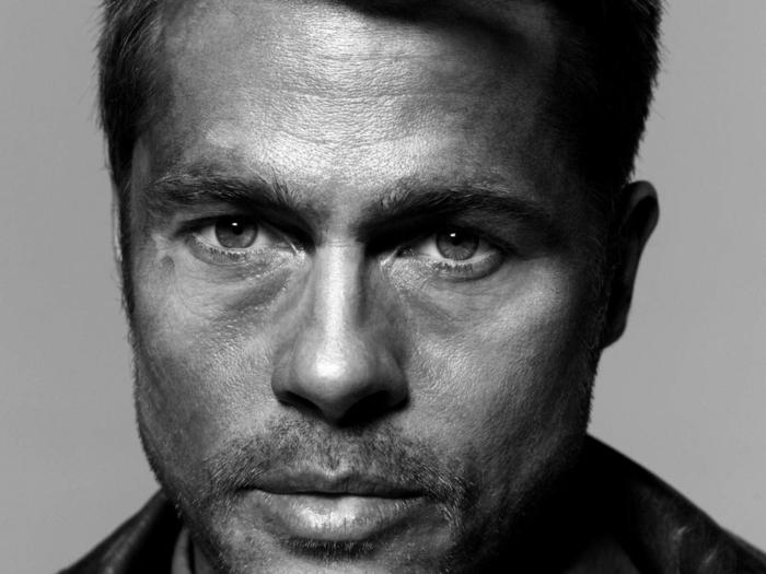 visage photographie noir et blanc