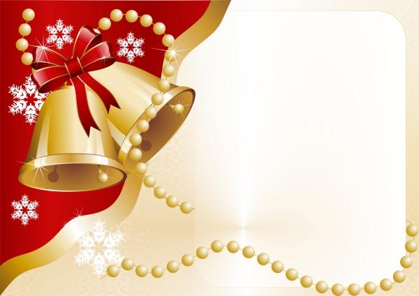 voeux de Noël jolies cloches