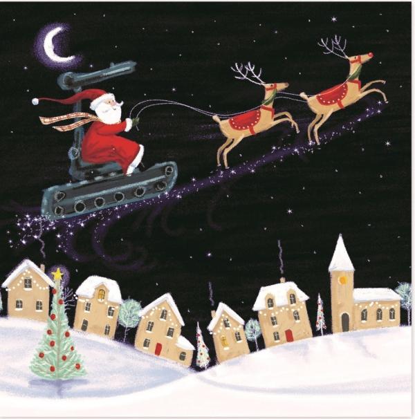 voeux de Noël un hôte attendu