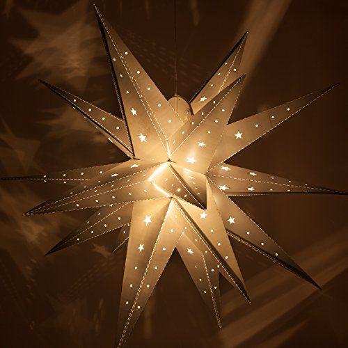éclairage Noël extérieur étoile brillante