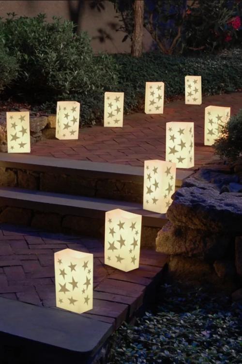 éclairage Noël extérieur boîtes en plastique