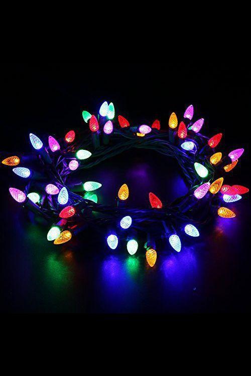 éclairage Noël extérieur guirlande lumineuse