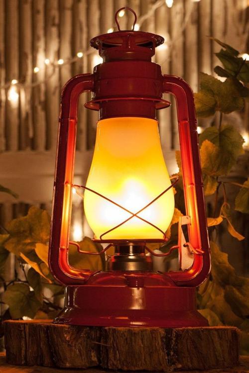 éclairage Noël extérieur lampadaire rouge
