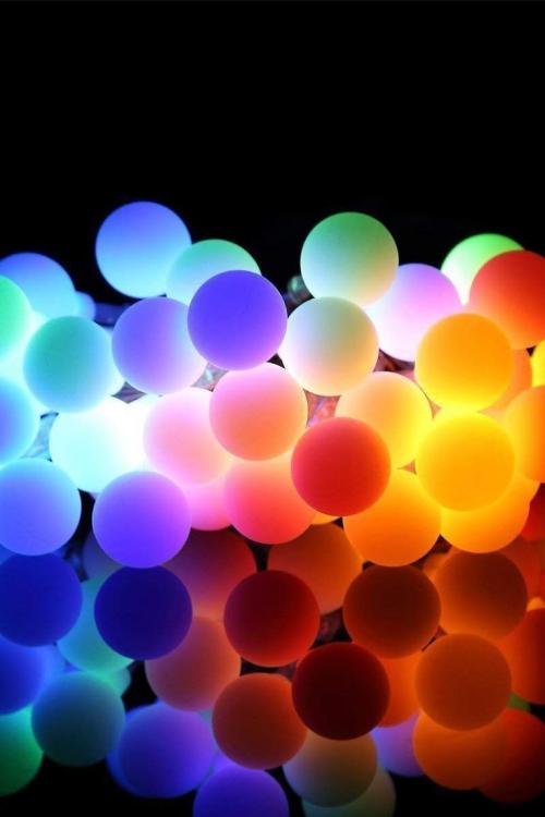 éclairage Noël extérieur luminaires comme des ballons