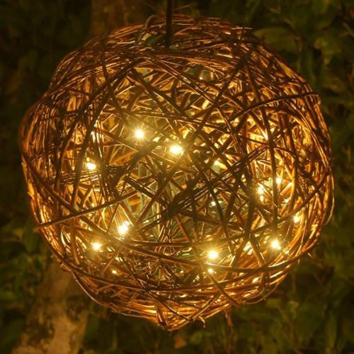 éclairage Noël extérieur un globe lumineux