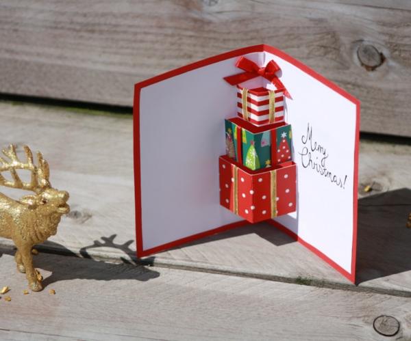 75 Idees Creatives De Carte Noel A Faire Soi Meme