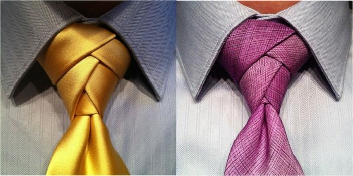 Eldredge faire un noeud de cravate idée