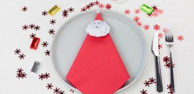 Pliage Serviette Noël Pour Un Arrangement Sophistiqué De La