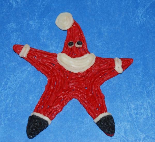 activité manuelle maternelle Noël figure en pâte