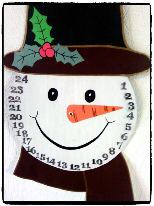 activité manuelle maternelle Noël un bonhomme de neige