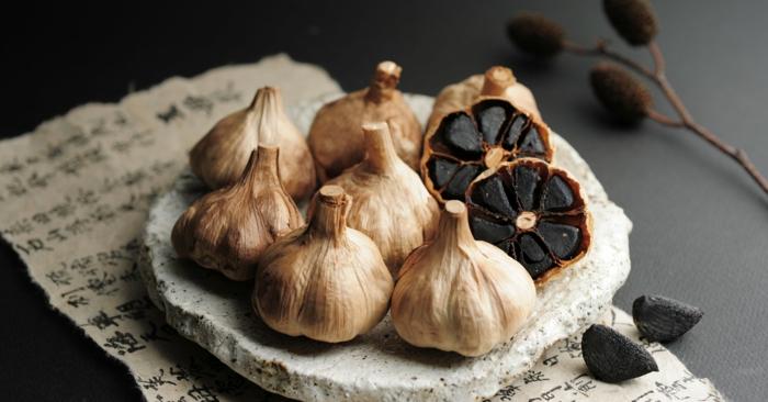 ail noir fermenté trésor japonais