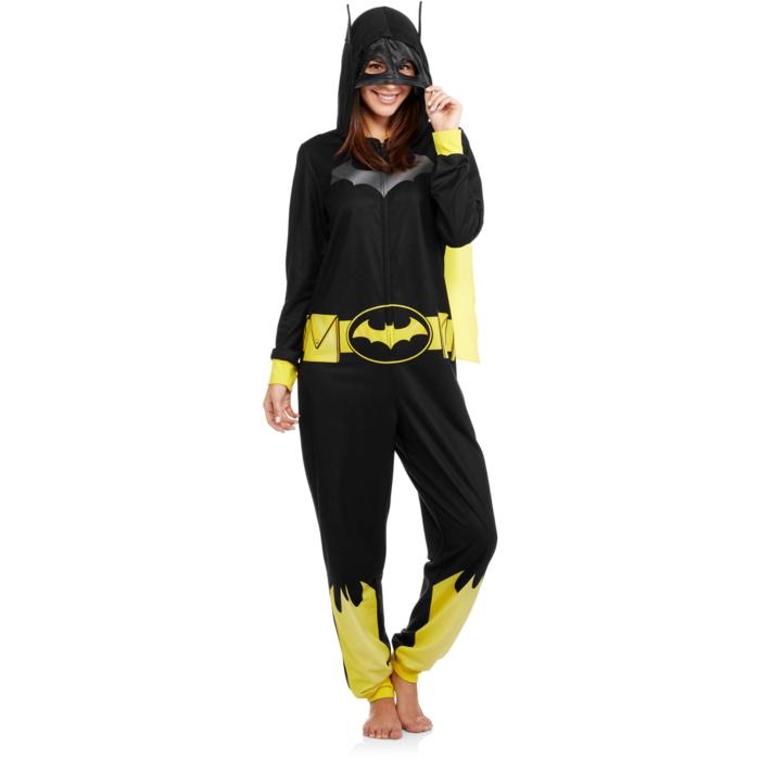 batman onesie idée cadeau geek pour femme