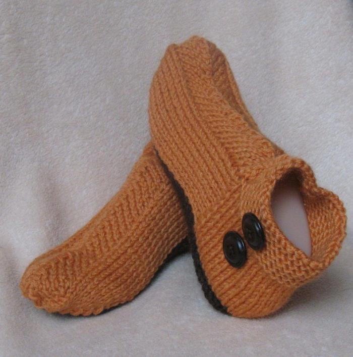 cadeau Noël copine bottines tricotées