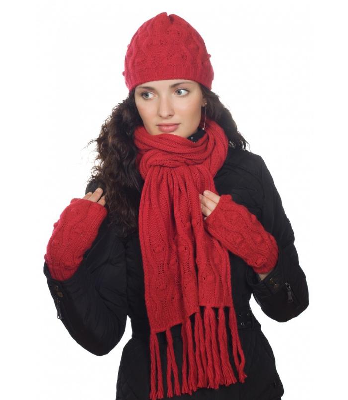 cadeau Noël copine le tricot est bon pour l'hiver