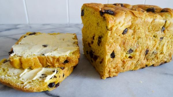 cake salé de Noël à la farine de maïs
