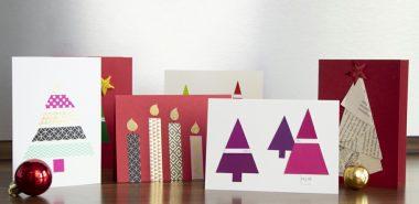 Carte De Noel A Confectionner.75 Idées Créatives De Carte Noël à Faire Soi Même