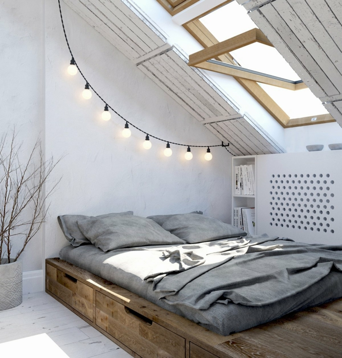 Estrade en bois : la solution pour délimiter l\'espace dans la maison
