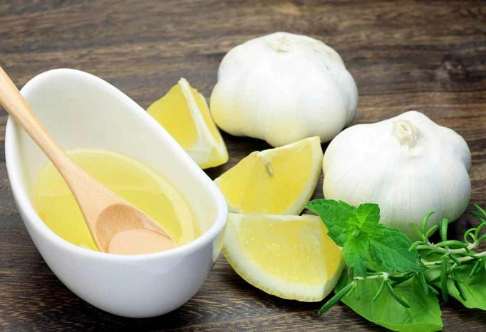 citron et ail pour combattre le rhume