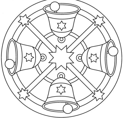 Coloriage De Mandala Etoile.Coloriage Mandala Noel Pour Faire Plaisir Aux Petits Et Grands