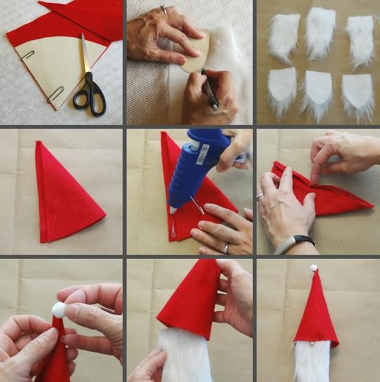comment fabriquer gnome de noël