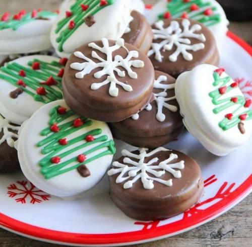 confiserie de Noël biscuits oréo