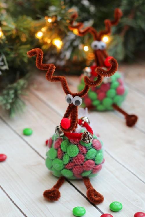 confiserie de Noël dragées rouges et vertes
