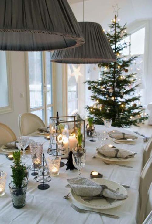 déco Noël scandinave aller avec la nature