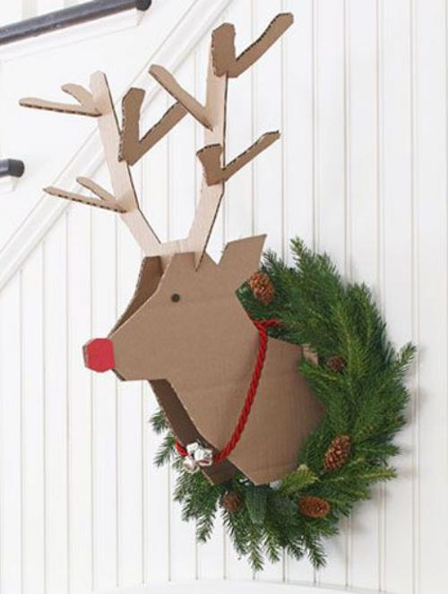 déco Noël scandinave le renne Rodolphe
