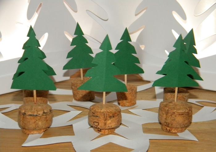 déco bouchon Noël décoration thématique
