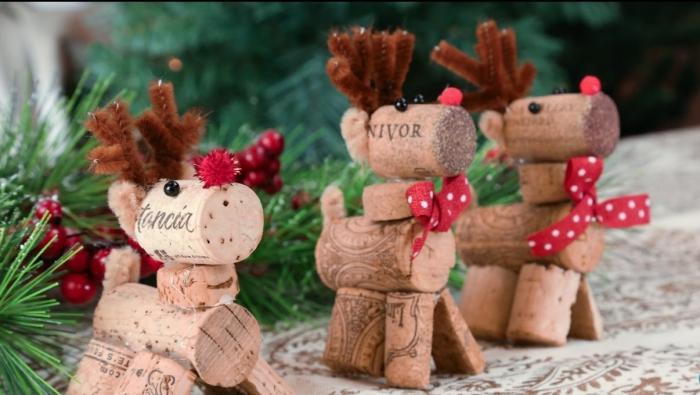 déco bouchon Noël les bouchons de marque