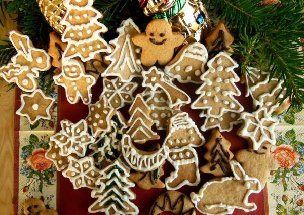 déco de Noël en pâte à sel bon appétit